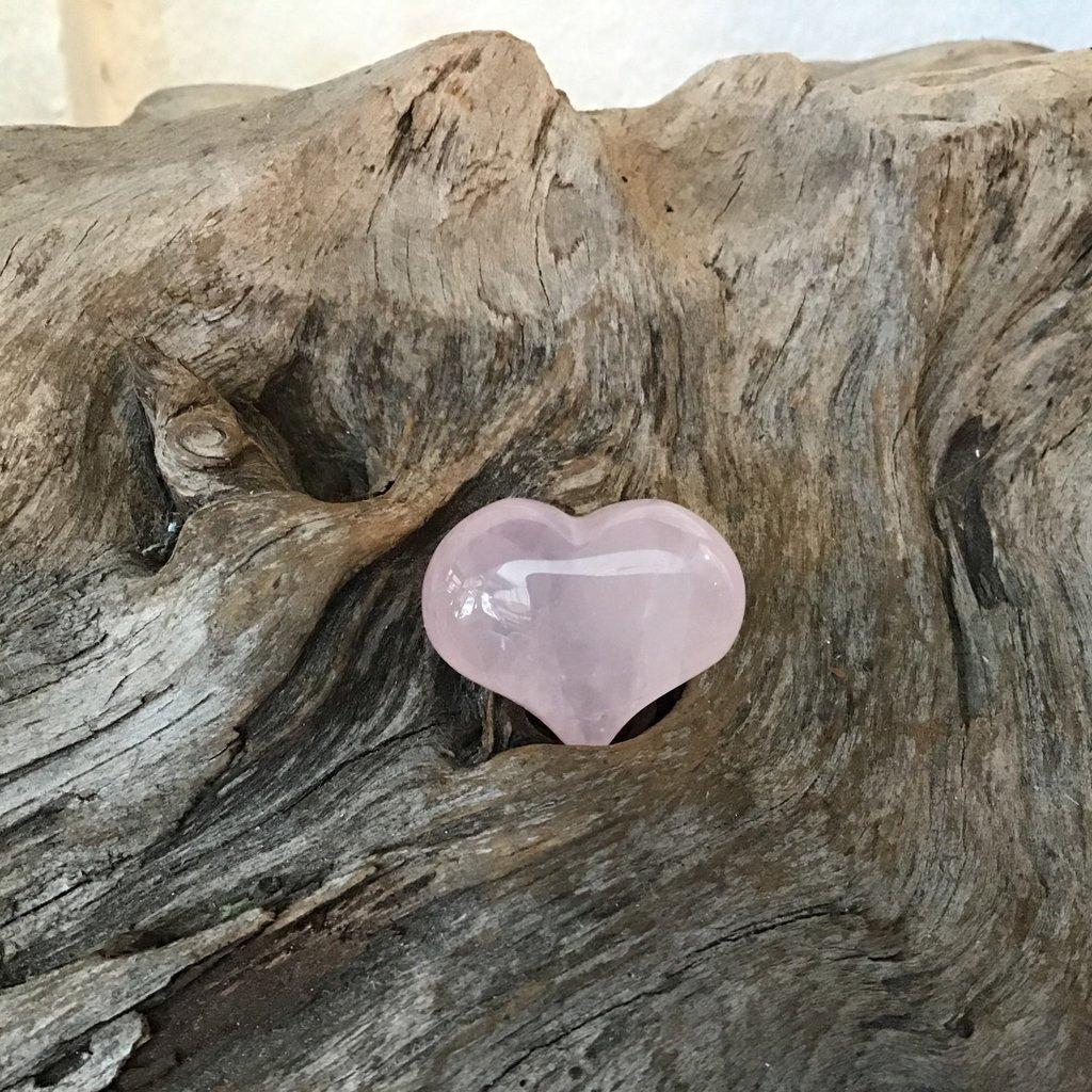 Rose Quartz Mini Heart