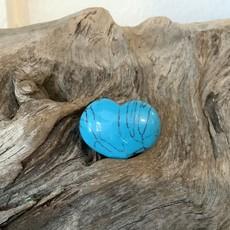 Turquoise Howlite Mini Heart
