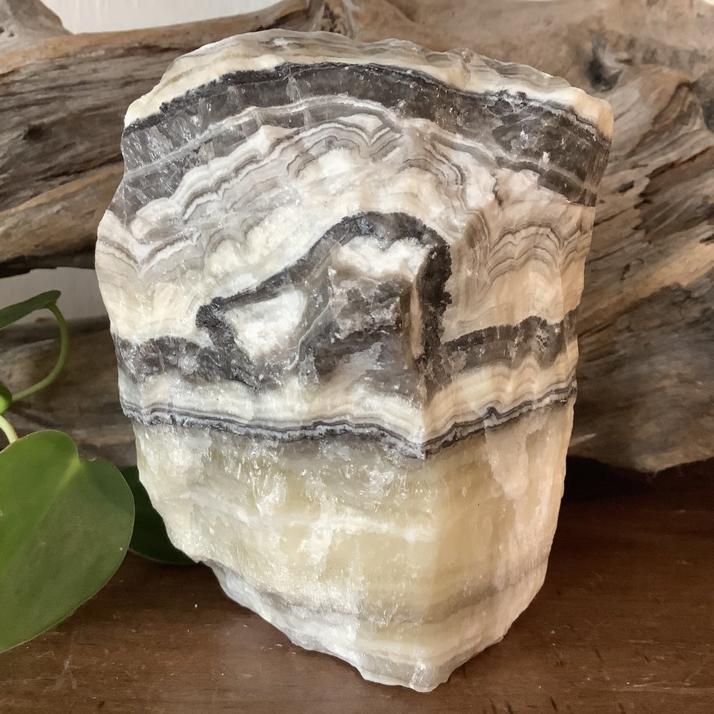 Zebra Calcite Raw