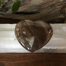 Petrified Wood Heart Large