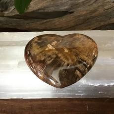 Petrified Wood Heart