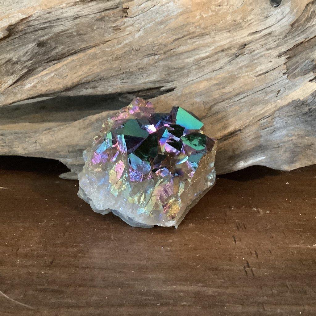 Rainbow Titanium Aura cluster
