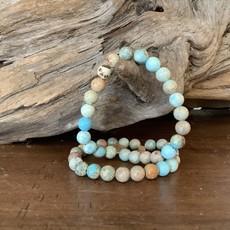 Sea Sediment Jasper bracelet