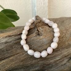Pink Mangano Calcite Bracelet