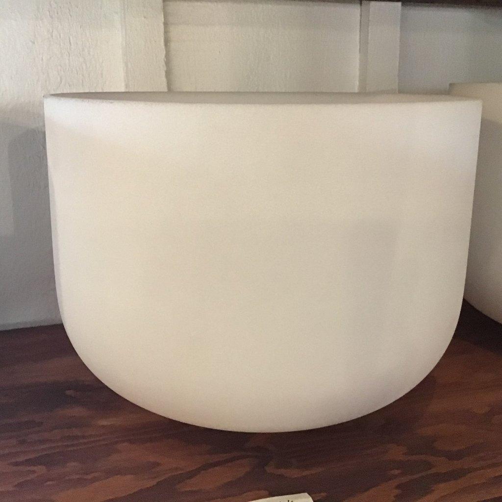 """Sacral 8"""" D Crystal Singing Bowl"""