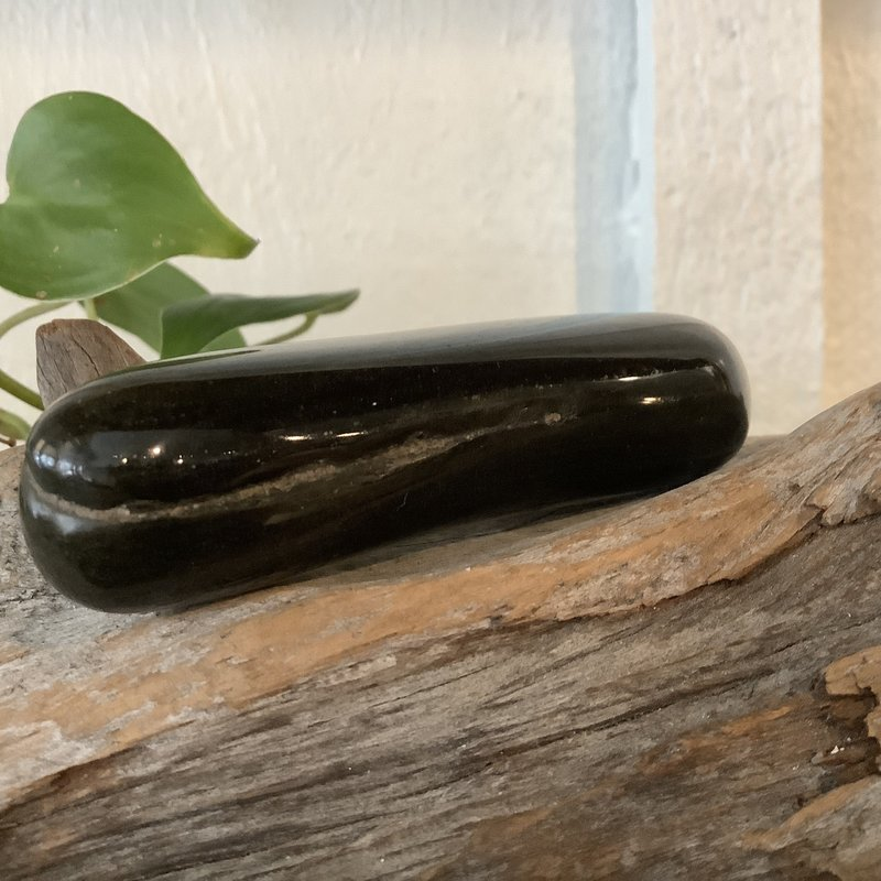 Gold Sheen Obsidian Wand