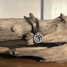 Stone OM Adjustable Necklace