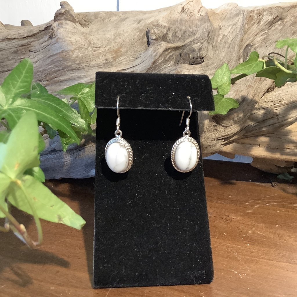 Howlite Earrings