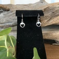 Heart Silver Earrings