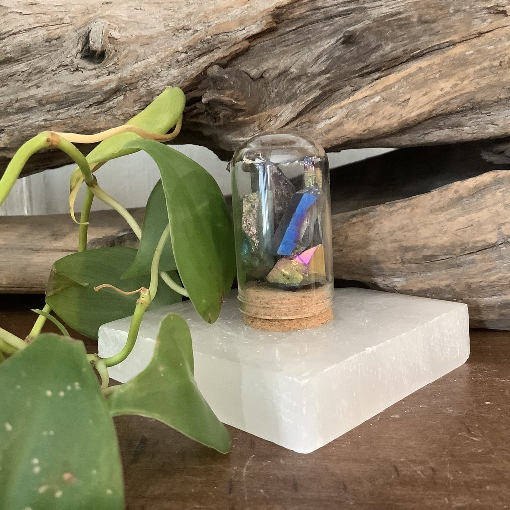 Rainbow Aura Mini Jar