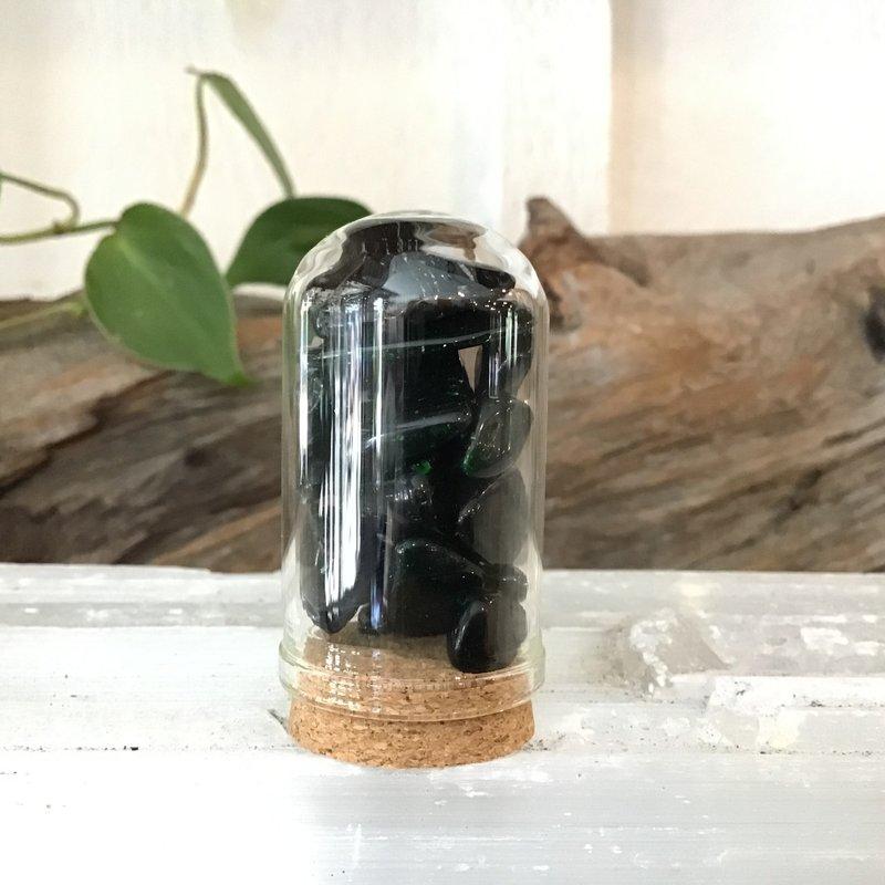 Green Goldstone Mini Jar