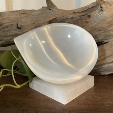 Tear Drop Selenite Bowl