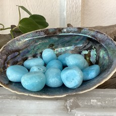 * Blue Aragonite Tumbled
