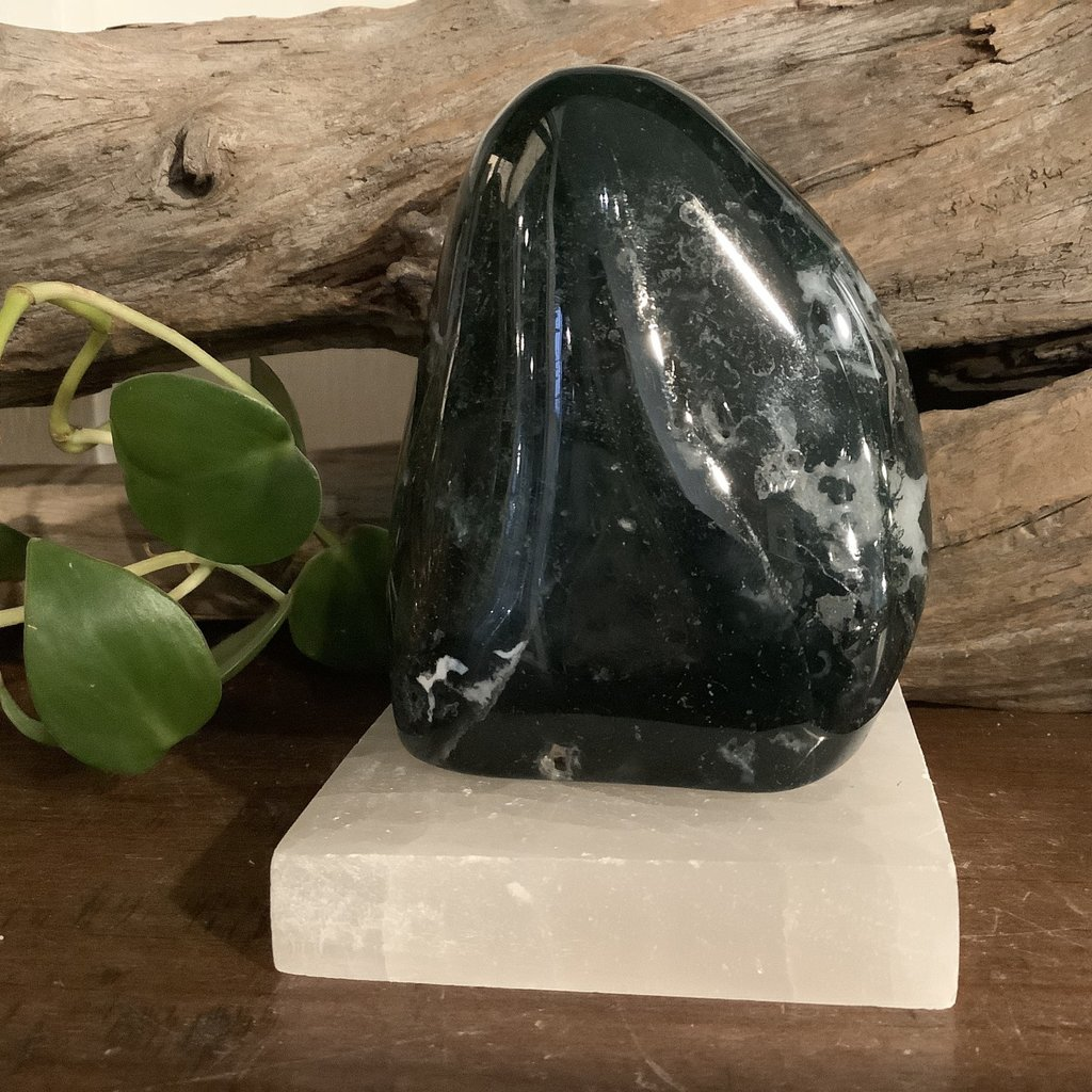 Moss Agate Free Form