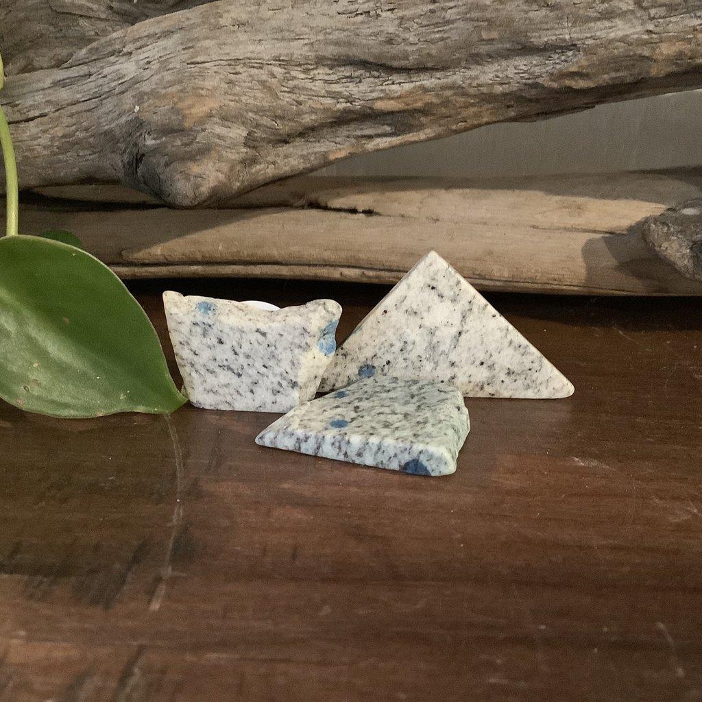 K2 Azurite in Granite