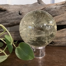 Smoky Lemon Quartz Sphere