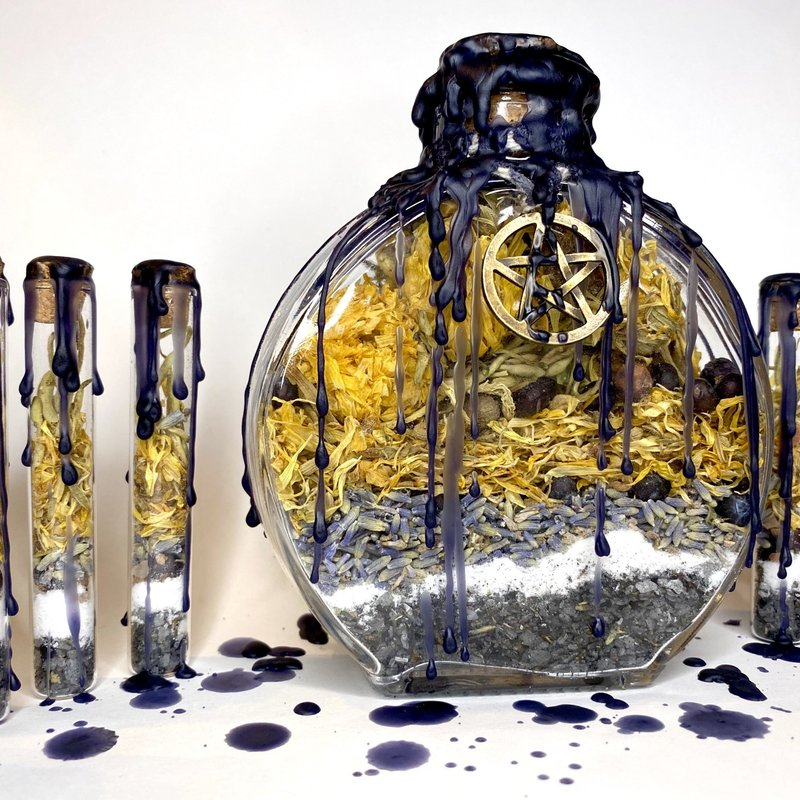 Empath Protection Spell Jar