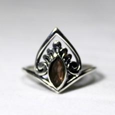 Smoky Quartz Ring size 8