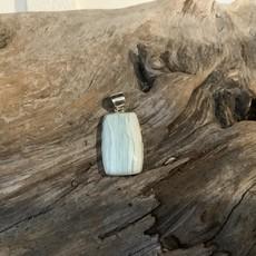 Aragonite pendant
