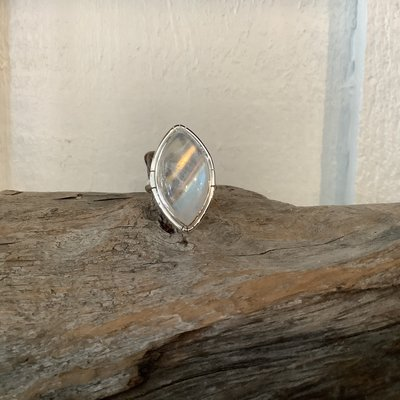 Moonstone ring size 8