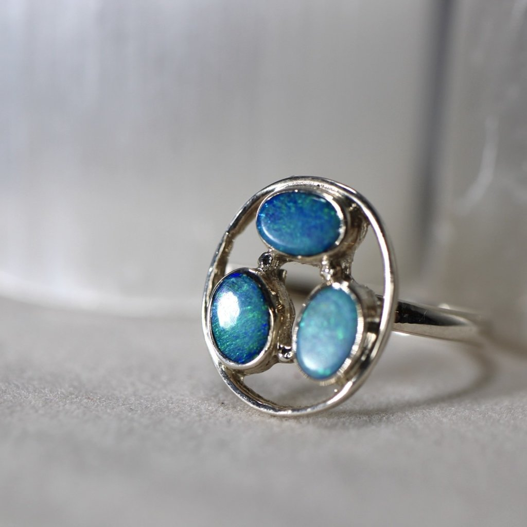 Precious Opal Ring Size 9