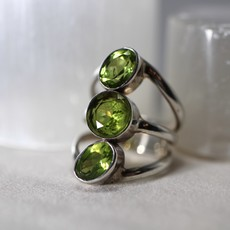 Peridot Ring Size 6