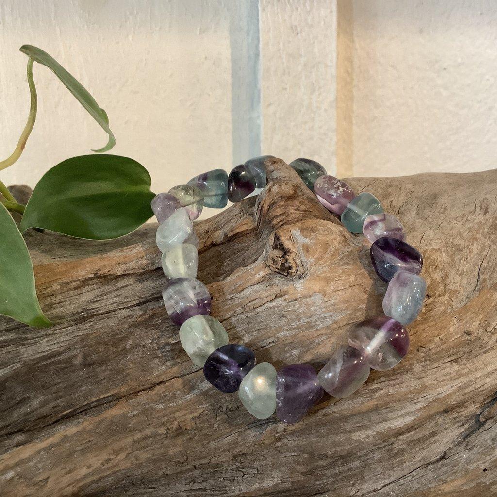 Fluorite Raw Bracelet