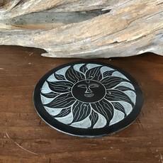 Sun Soap Stone Incense Holder