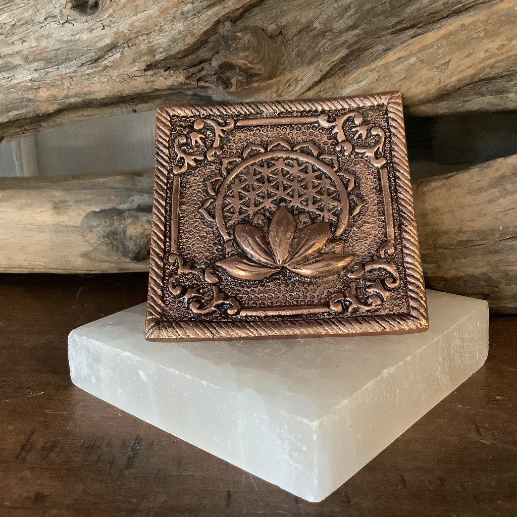 Lotus Flower of Life Incense Holder