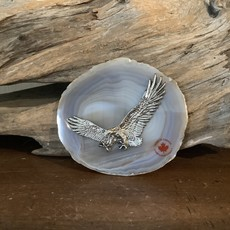 Eagle on Agate slab