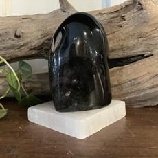 Silver Sheen Obsidian Free Form