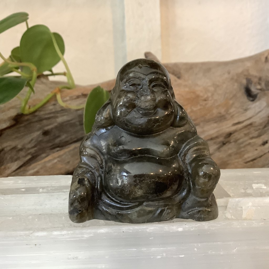 Labradorite Buddha