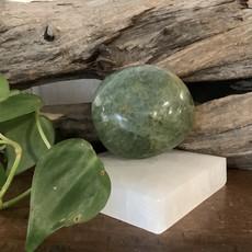 Green Fluorite Palm