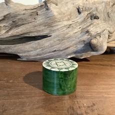 Heart Chakra Soap Stone Box
