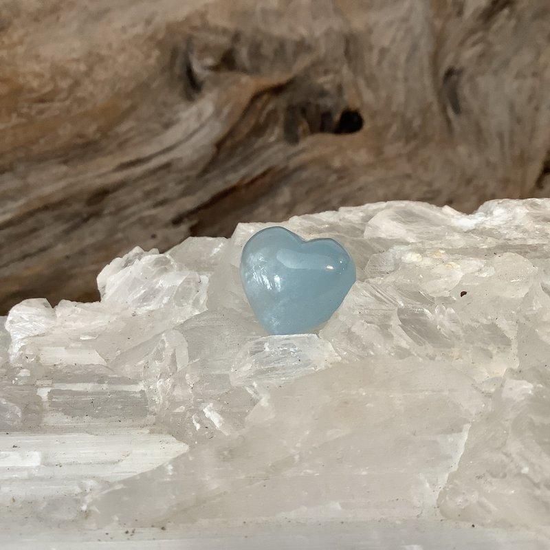 Aquamarine Mini Heart