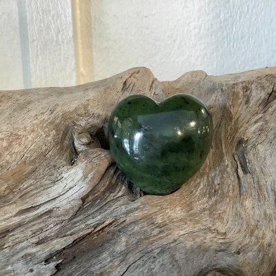 Jade Puffy Heart