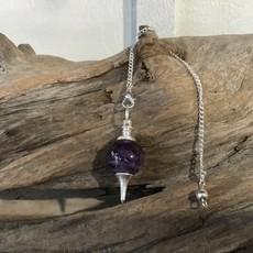 Amethyst  Round Pendulum