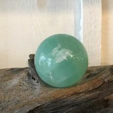 Pistachio Calcite Sphere