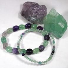 Fluorite Bracelet 4mm