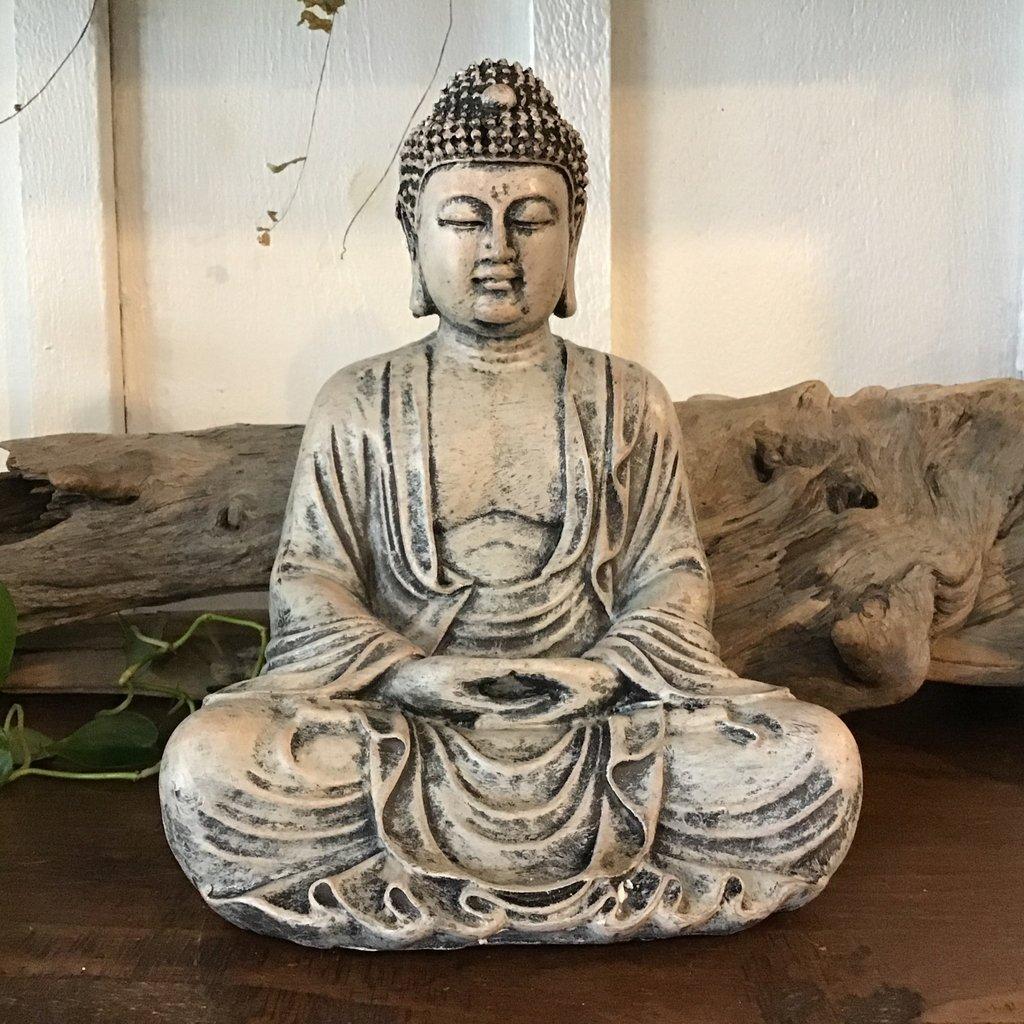 Meditation Buddha Resin