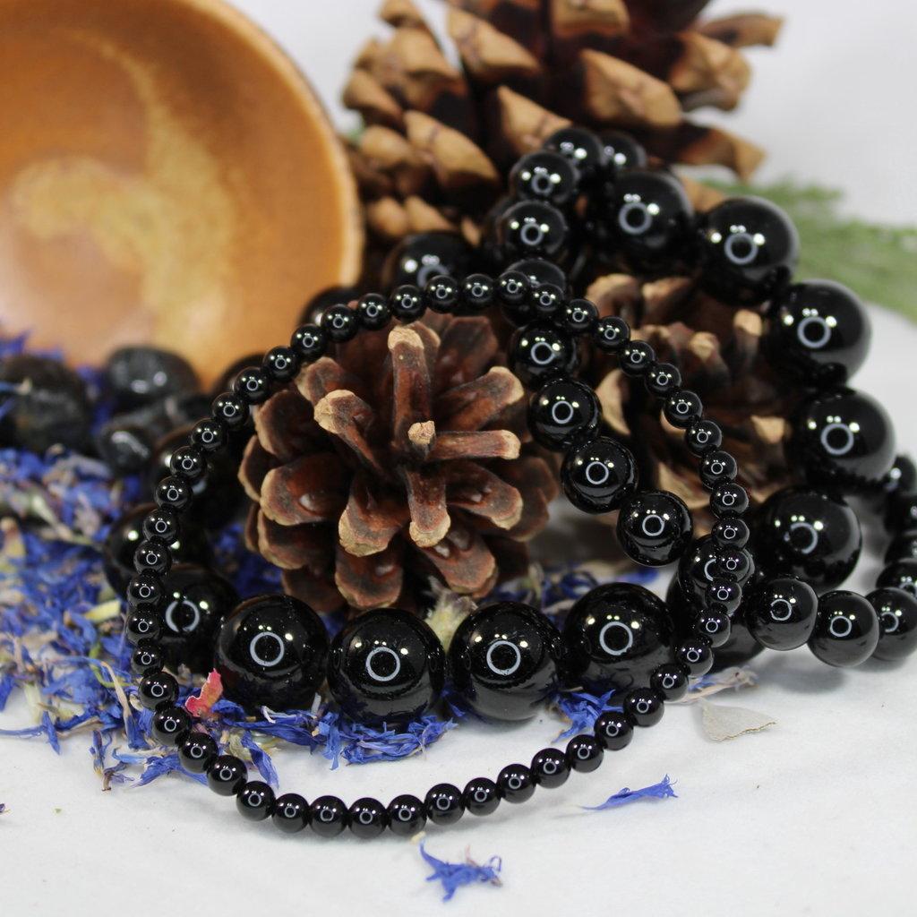 Black Tourmaline 8mm Bracelet