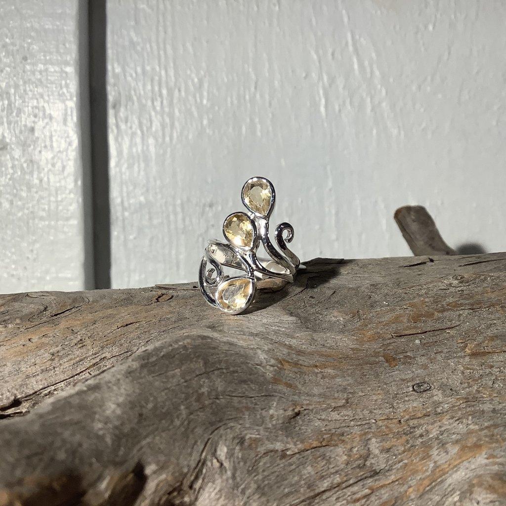 Citrine ring size 6