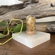 Yellow Fluorite Mini Jar