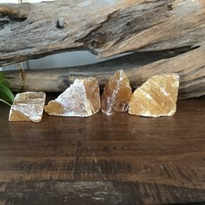Honey Calcite Raw