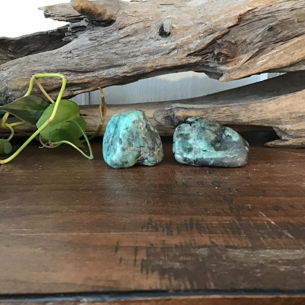 Emerald Tumbled Large