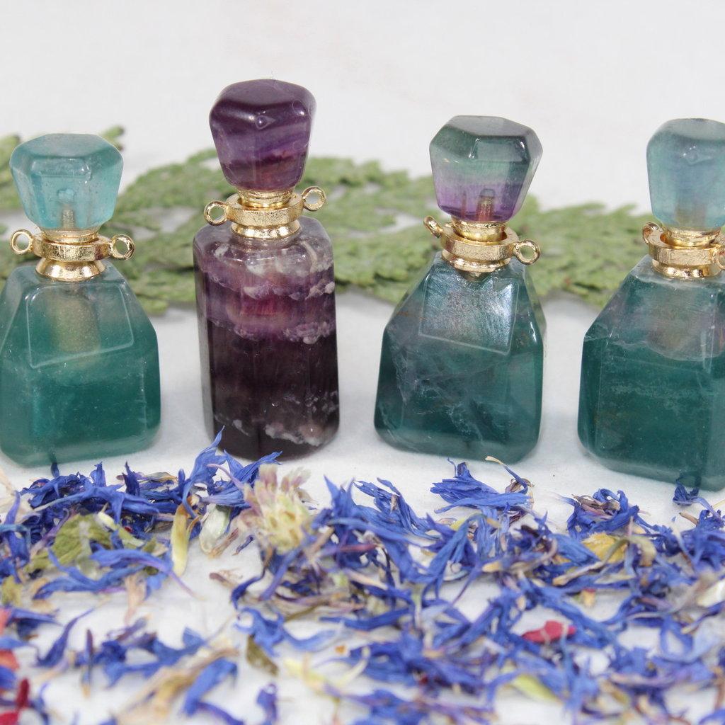 Fluorite Perfume Bottle