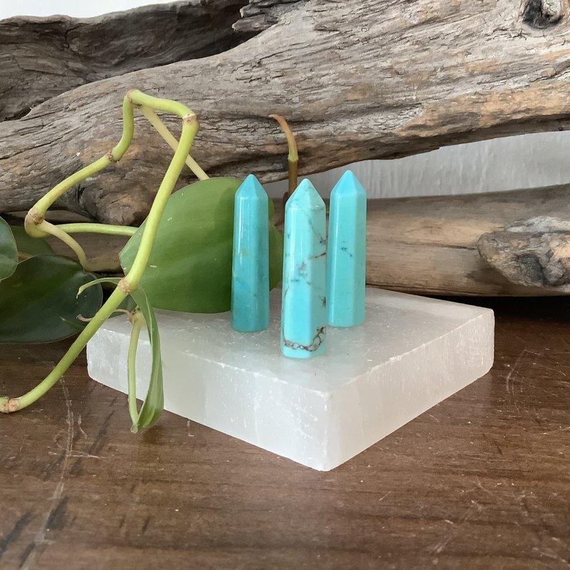 Turquoise Howlite Mini Tower