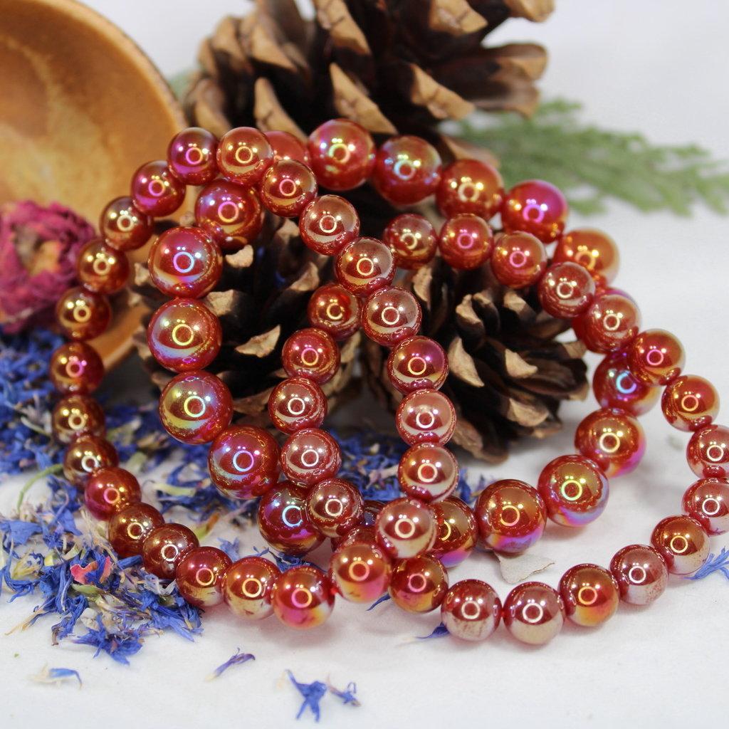 Ruby Aura Bracelet 6-10mm