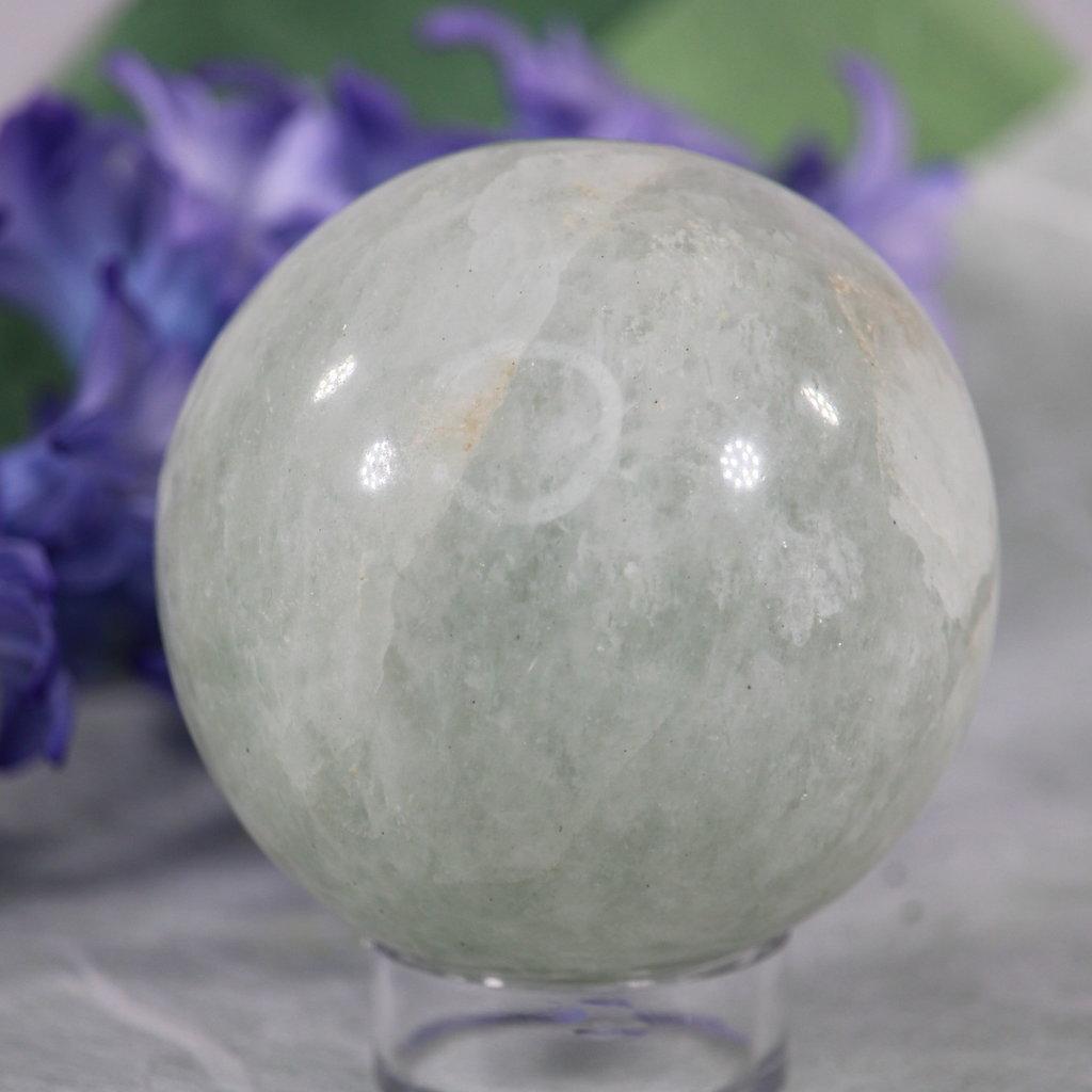 Prasiolite Sphere