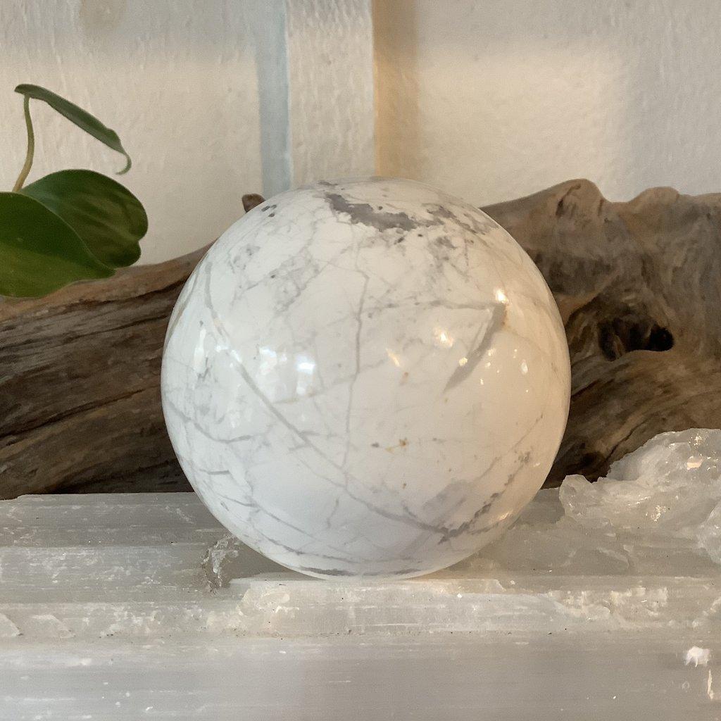 Howlite Sphere